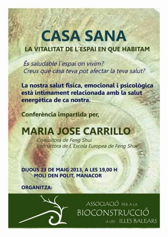 Xerrada Maria José Carrillo