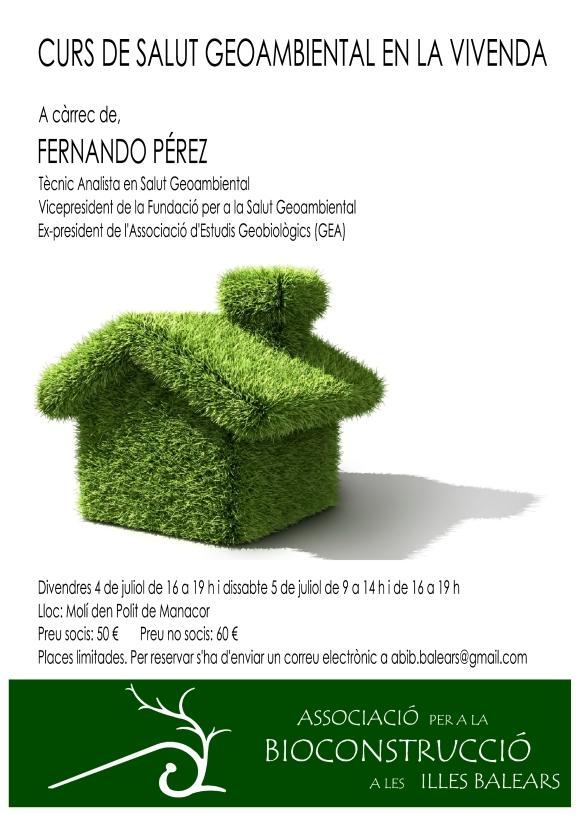 Cartell curs Fernando Perez